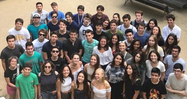 foto grupo summer school